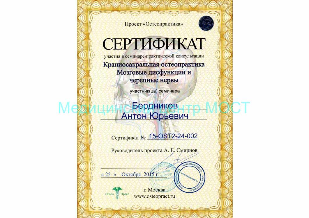 2015 sertifikat kraniosakralnaya osteopatiya 2